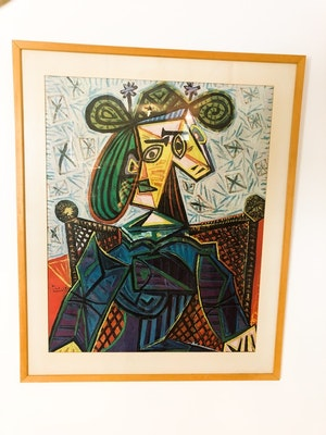 Tavla Picasso Lousiana 1968