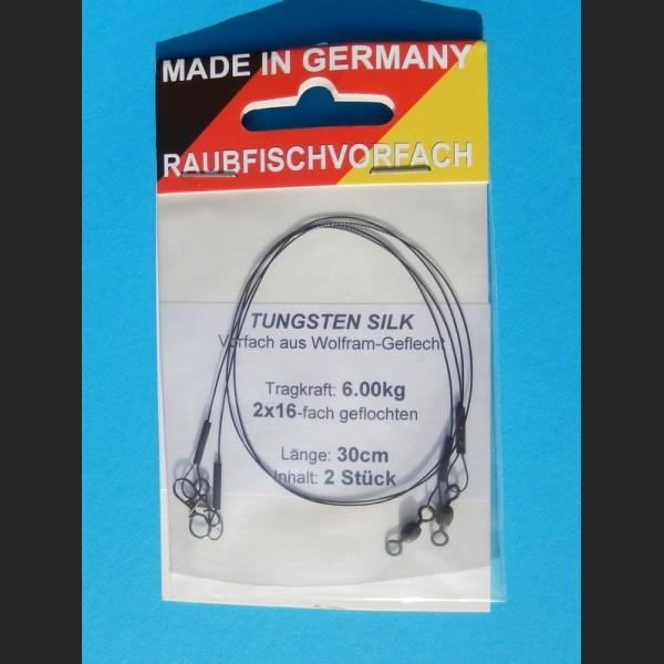 Tungsten Silk (Wolfram) 30cm - 6kg - 2stk