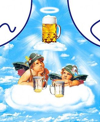 Törstiga änglar i himlen