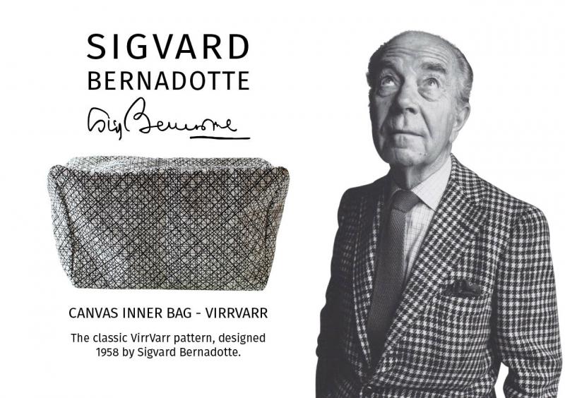 VirrVarr mönster designat av den svenska design prinsen
