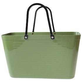 Väska Naturgrön - Original 1950 - Perstorp Design - Green Plastic 195019