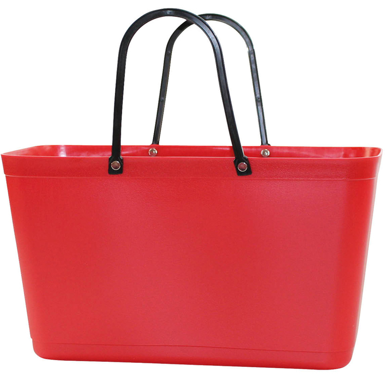 Väska Röd - Sweden Bag - Stor 55102 Green Plastic
