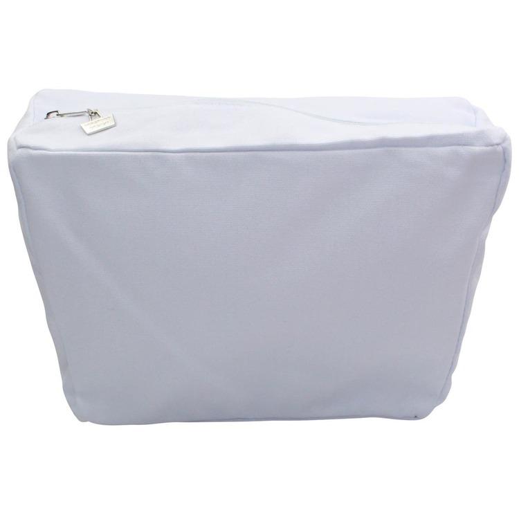 Inner zip-up bag with pocket - White 43208