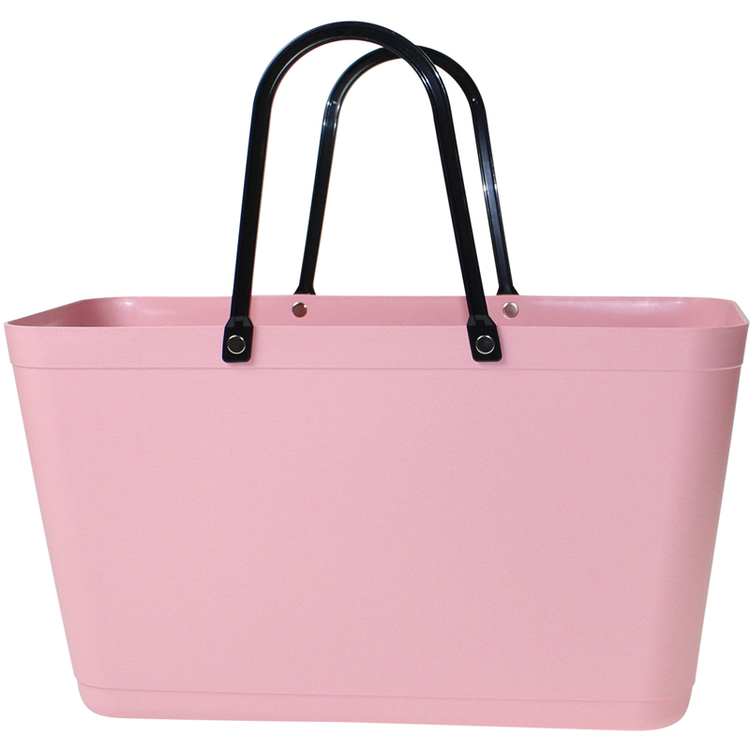Väska Dusty Pink Sweden Bag - Stor - Green Plastic 55120