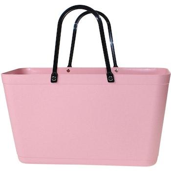 Väska Dusty Pink Sweden Bag - Stor - Green Plastic