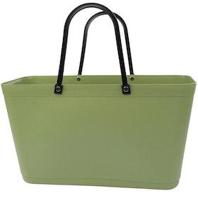 Väska Naturgrön Sweden Bag - Stor - Green Plastic