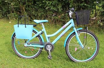 Cykelkorg Svart - Barn