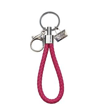 Nyckelringar i läder