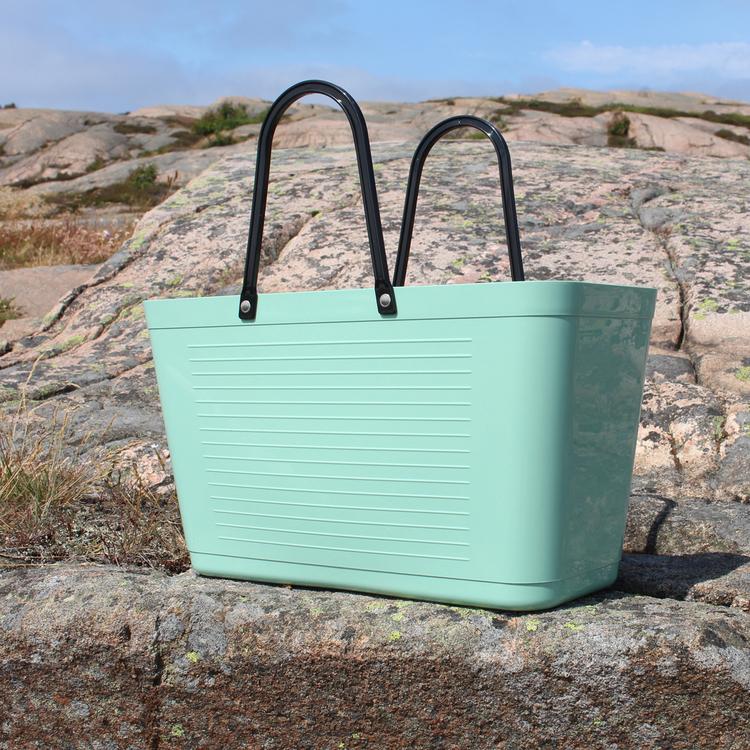 Väska Frost Green - Original 1950 - Perstorp Design - Green Plastic 195026