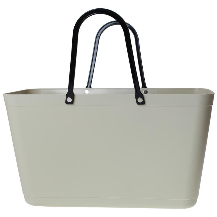 Väska Creme Sweden Bag - Stor - Green Plastic 55134