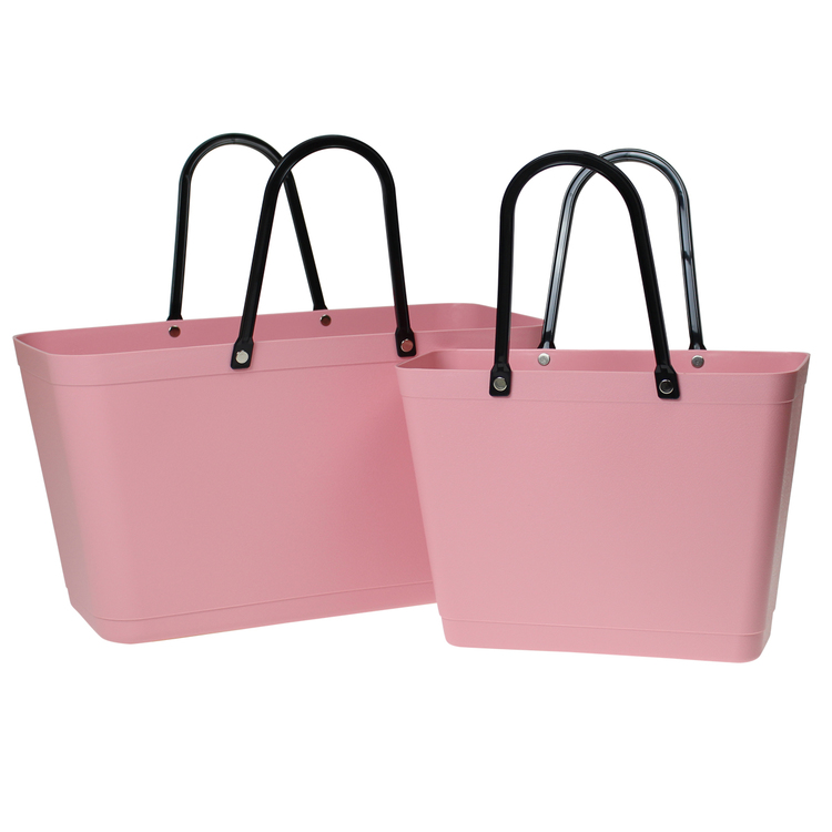 Väska Dusty Pink Sweden Bag - Stor - Green Plastic 55120