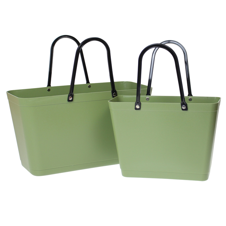 Tasche Natur Grün Sweden Bag - Groß 55119