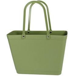 Väska Naturgrön - Sweden Bag Liten - Green Plastic 55219