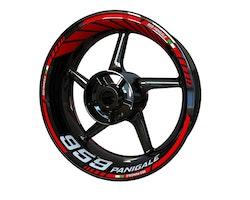 Ducati 959 Panigale Wheel Stickers kit - Standard Design