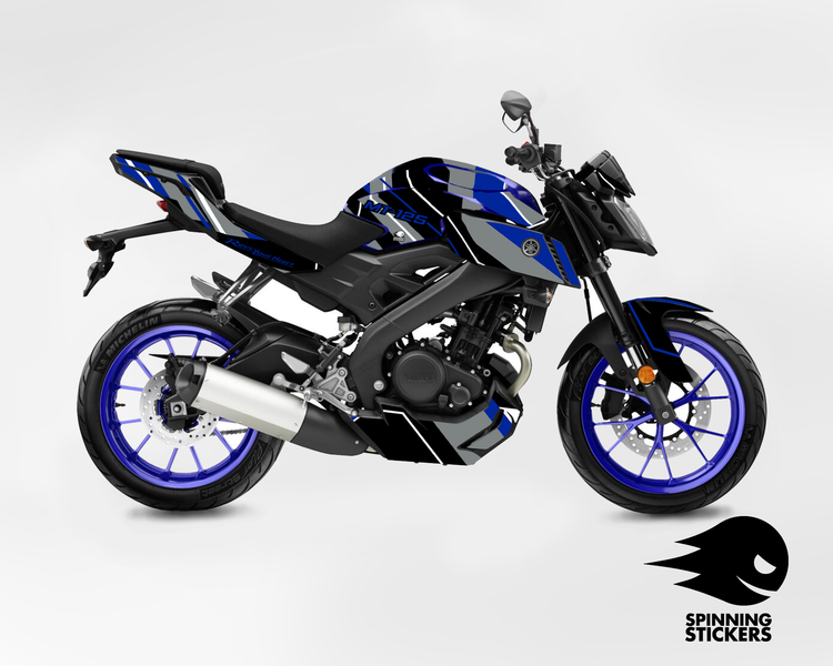 "Yamaha MT-125 Graphic Kit ""Organized chaos"" 2014-2019 (Multiple colors)"