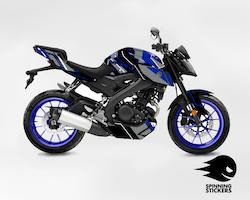 "Yamaha MT-125 Graphic Kit ""Organized chaos"" 2014-2019"