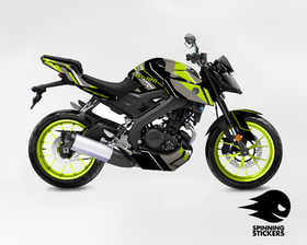 "Yamaha MT-125 Graphic Kit ""Organized chaos"" 2014-2019"
