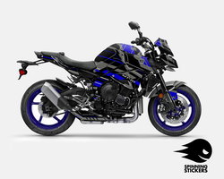 "Yamaha MT-10 Graphic Kit ""Organized chaos"" 2016-2020"