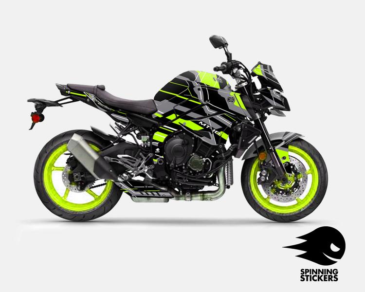 "Yamaha MT-10 Graphic Kit ""Organized chaos"" 2016-2020 (Multiple colors)"