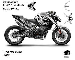 """KTM 790 Duke Graphic Kit """"Grainy Paragon"""" 2018-2020"""