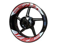 Aprilia Wheel Stickers kit -  2-piece Design