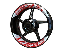 Aprilia Rim Stickers 2-piece (Front & Rear - Both Sides Included)