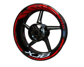 XJ6 Wheel Stickers Standard (Front & Rear - Both Sides Included)