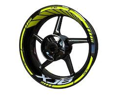 Yamaha XJ6 Wheel Stickers kit - Standard Design