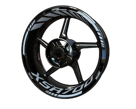 XSR700 Wheel Stickers Standard (Front & Rear - Both Sides Included)