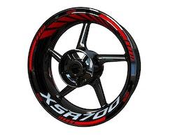 Yamaha XSR700 Wheel Stickers kit - Standard Design