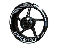 Yamaha Tracer 9 GT Wheel Stickers kit - Standard Design
