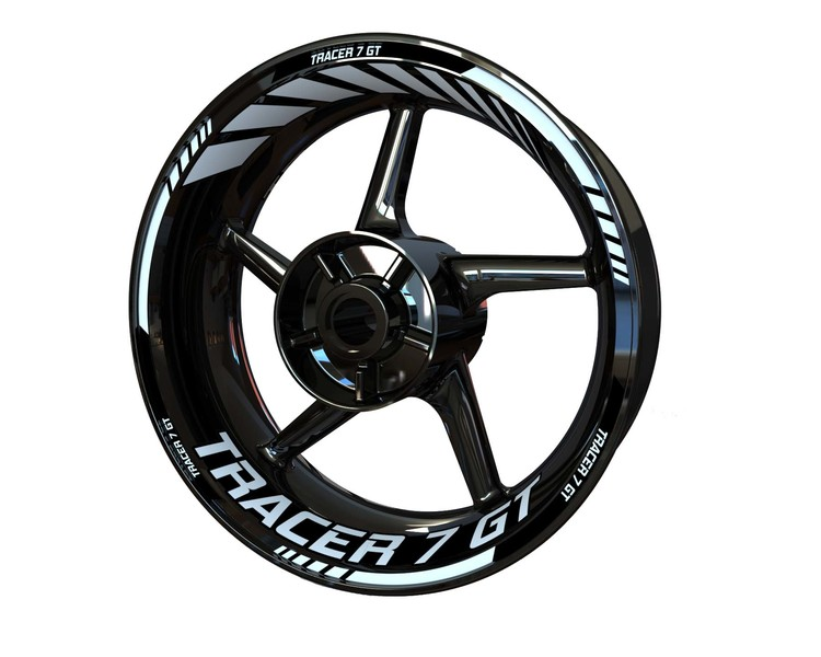 Yamaha Tracer 7 GT Wheel Stickers Standard (Front & Rear - Both Sides Included)