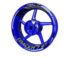 Yamaha TRACER 7 GT Wheel Stickers kit - Standard Design
