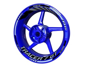 Tracer 7 GT Wheel Stickers Standard (Front & Rear - Both Sides Included)