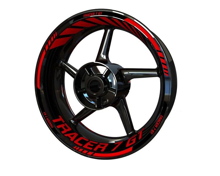 Tracer 7 GT - Rim Stickers Standard
