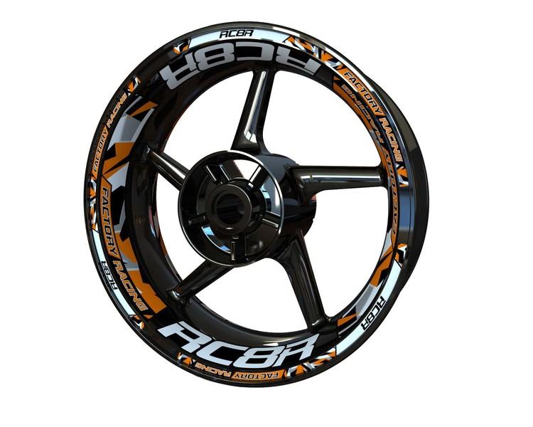 Rim Stickers Plus - KTM RC8R