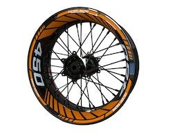 KTM 450 Supermoto Wheel Stickers kit - Standard Design