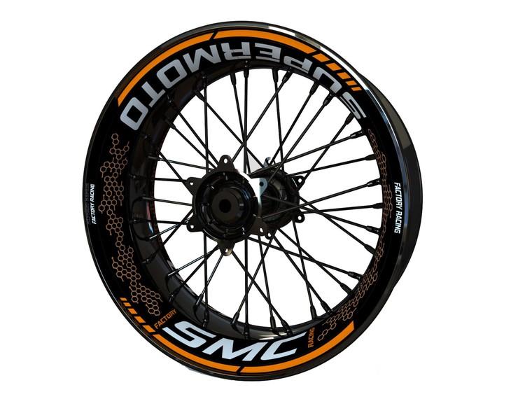 KTM SMC Wheel Stickers kit - Premium Design