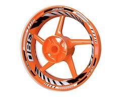 KTM RC390 and 390 Duke Wheel Stickers kit - Plus Design