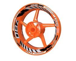 KTM 790 Duke Wheel Stickers kit - Plus Design V2