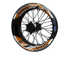 KTM 690 SMC Wheel Stickers kit - 2-Piece Design