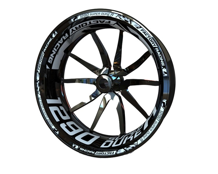 KTM 1290 Super Duke R Wheel Stickers Plus (Front & Rear - Both Sides Included)