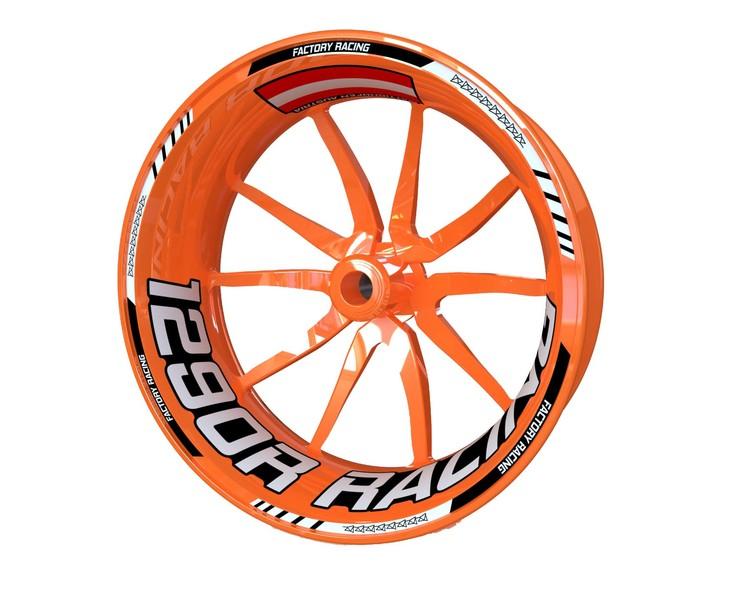 KTM 1290 Super Duke R Racing Wheel Stickers kit - Standard Design