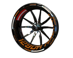 KTM 1290 Super Duke R Racing Wheel Stickers Standard (Front & Rear - Both Sides Included)