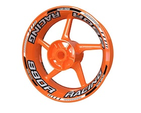 KTM 990 Super Duke Racing Wheel Stickers Standard (Front & Rear - Both Sides Included)
