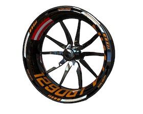 KTM 1290 Super Duke GT Wheel Stickers Standard (Front & Rear - Both Sides Included)