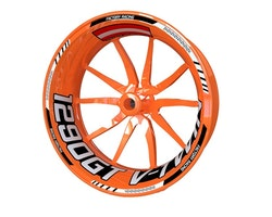 KTM 1290 Super Duke GT Wheel Stickers kit - Standard Design
