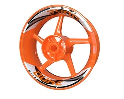 KTM Duke Wheel Stickers kit - 2-Piece Design V2