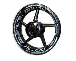 KTM RC390 Wheel Stickers kit - Plus Design V2