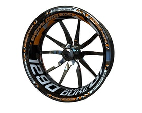 KTM 1290 Super Duke GT Wheel Stickers Plus (Front & Rear - Both Sides Included)